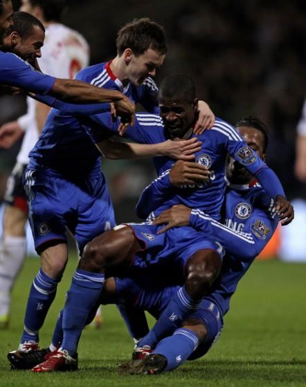 Ramires a jeho první gól.